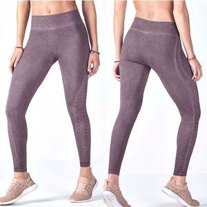 Fabletics seamless legging mesh sides high waist